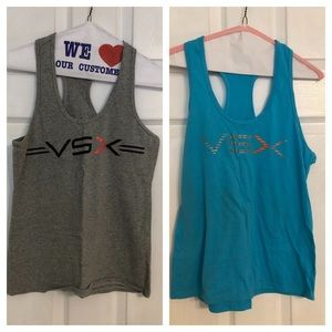 Bundle of Victoria's Secret workout tanks